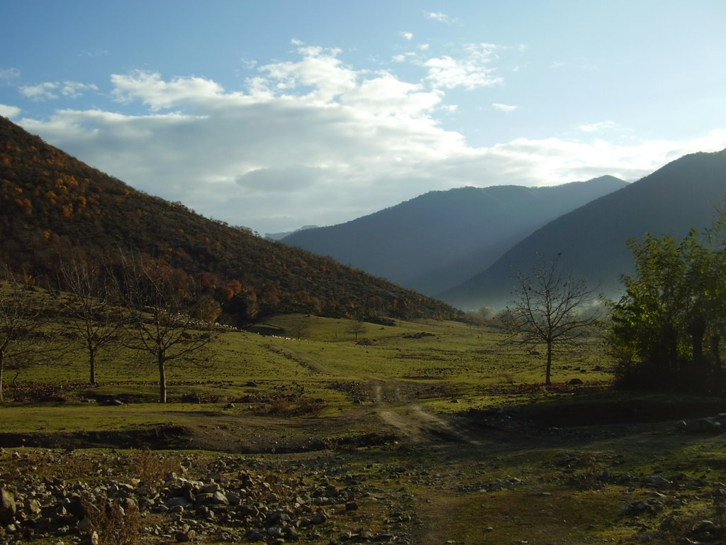 Azerbaijani Turkish Russian translations - beautiful mountains of Azerbaijan