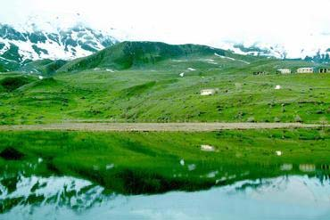 Azerbaijani Turkish Russian translations - Batabat mountain and Batabat lake